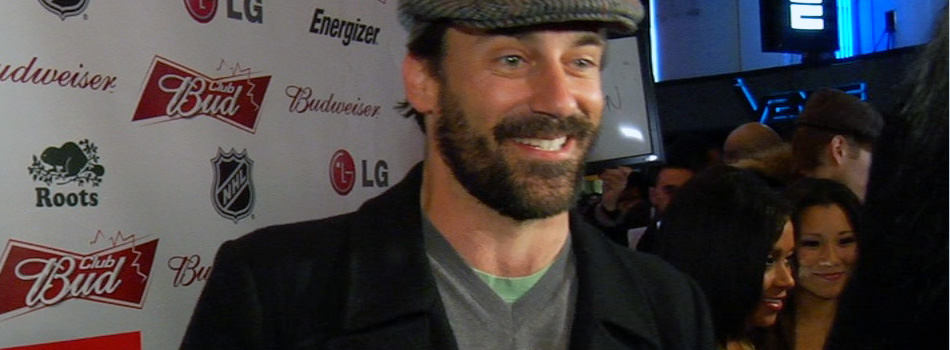 Jon Hamm at Winter Olympics Red Carpet Live Stream